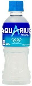 アクエリアス 300ml 24本 (24本×1ケース) PET ペットボトル スポーツドリンク イオン飲料 熱中症対策【送料無料】