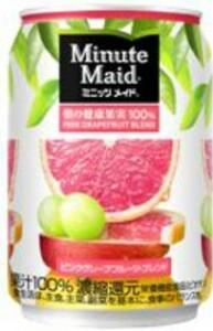 ミニッツメイド ピンクグレープフルーツブレンド 280ml 24本 (24本×1ケース) 缶 フルーツジュース 果汁ジュース【送料無料】