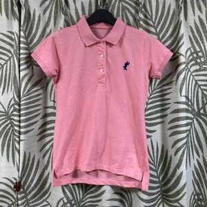 激安価格!美品です!ピンク 半袖ポロシャツ レディース XLサイズ ポロシャツ 半袖 半袖ポロシャツレディース