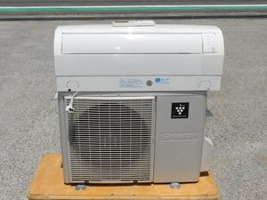 【14畳/送料無料】SHARP ルームエアコン AY-A40SE 100V 4.0KW R410 プラズマクラスター搭載 フィルターお掃除 家庭用 中古