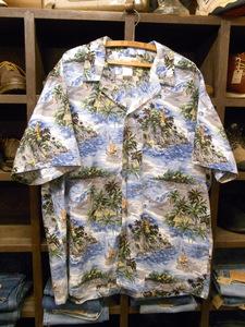 ビッグサイズ MADE IN HAWAII THE HAWAIIAN ORIGINAL ALOHA SHIRTS SIZE 3XL ハワイ製 ハワイアン オリジナル アロハ シャツ 半袖