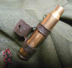 ■ ダミーカート・米軍実物中古品、使用済 5.56mm・1発 ■