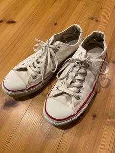 90's CONVERSE ALL STAR/コンバース オールスター Vintage Sneaker/ヴィンテージ スニーカー 生成り / Chuck Taylor チャックテイラー