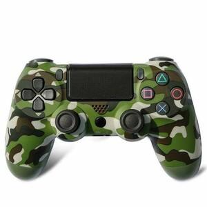 PS4 コントローラー 迷彩 最新モデル ワイヤレス プレステ4 互換