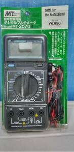 堅牢型実用機 デジタルマルチメーター