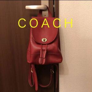 COACH オールドコーチ レザーリュック