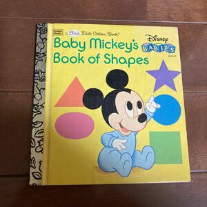 Baby Mickey's Book of Shaps 洋書絵本
