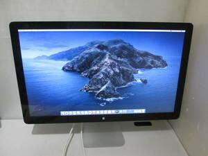 「AP02」★Apple Thunderbolt Display A1407 27インチ液晶モニター 2560x1440 ★