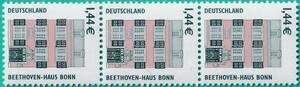 ドイツ 名所シリーズ 1.44ユーロ 3枚連 裏にナンバー80 (タイプ I)