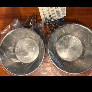 スノーピーク チタン シェラカップ 2個