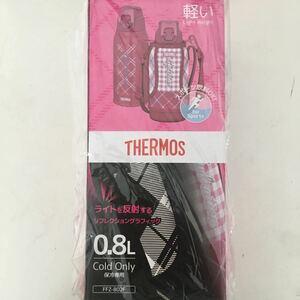サーモス スポーツボトル 真空断熱 サーモス水筒 THERMOS 0.8L ギンガムチェック ピンク