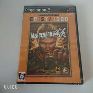PS2 ソフト マーセナリーズ2:ワールド イン フレームス 新品未使用 未開封品 送料無料!