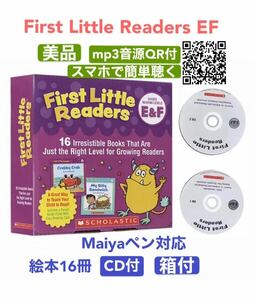 First Little Readers E&F  絵本16冊 +CD2枚 新品