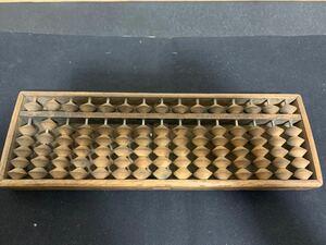 昭和レトロ そろばん 算盤 計算機 木製