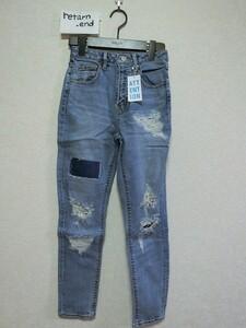 SLY JEANS デニム ジーンズ パンツ インディゴ 25 #0308SD12-0230 スライ