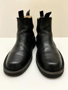 Y`s for men イタリア製サイドゴアブーツ ブラック 黒 ヨウジヤマモトプールオム ワイズフォーメン yohji yamamoto pour homme メンズ