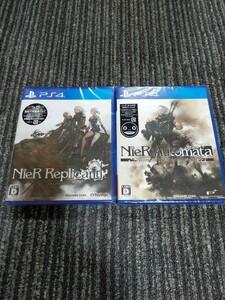 新品 PS4 ニーア オートマタ ゲーム オブ ザ ヨルハ エディション & ニーア レプリカント
