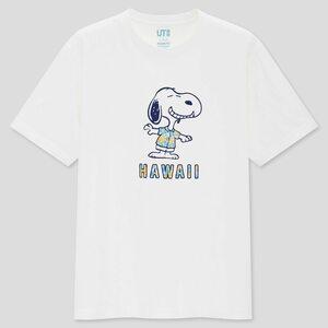 SNOOPY スヌーピー PEANUTS ピーナッツ HAWAII ハワイ UNIQLO ユニクロ コラボ 限定 未開封 UT Tシャツ 男性 L タグ付