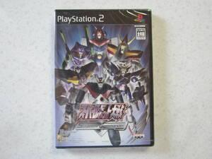 PlayStation ☆ プレイステーション PS 2 プレステ 未開封 スーパーロボット大戦 Scramble Commander ソフト ゲーム