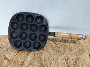 たこ焼き器 南部鉄器 たこ焼きプレート たこ焼き 岩鋳 S