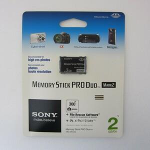 【未使用】メモリースティック PRO デュオ 2GB(並行輸入品)