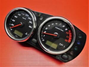 【評価A】60◆ ZRX1200 ダエグ ZRT20D 純正 メーター インジケーター パネル ASSY =動作動画有= 走行距離53,408km