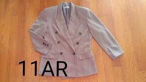 スーツ ジャケット BeRenice 新品 11AR 80年代 昭和 レトロ 80 バブル 肩パット付き 肩パット テーラード