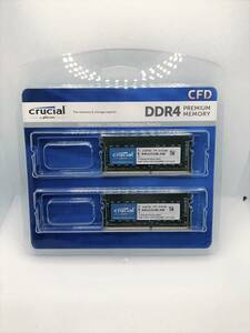 **Crucial Note memory DDR4-3200 16GB(8GBx2 sheets ) SO-DIMMM CT8G4SFRA32A**