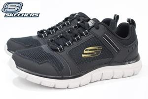 メンズ スニーカー スケッチャーズ SKECHERS Track-Knockhill 232001 BKGD 27cm