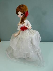 ポーズ人形  昭和レトロ フランス人形 ビンテージドール アンティーク 中古