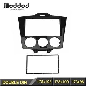 【追跡可】マツダ/MAZDA RX-8 前期 '03~'08 SE3P 社外 2Din オーディオ/ナビ フレーム 178x100mm オーディオ エアコンスイッチ C1431
