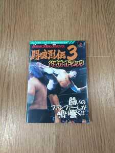 【B1092】送料無料 書籍 新日本プロレスリング 闘魂烈伝3 公式ガイドブック ( PS1 プレイステーション 攻略本 空と鈴 )