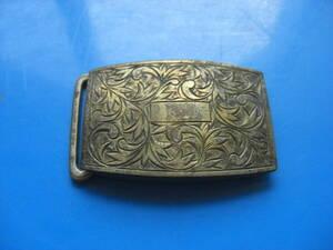 シルバー silver バックル ベルトバックル 装飾 カッティング 職人技 銀製品 彫刻 高級感 銀*KS306