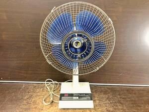 ◯TOSHIBA 東芝 扇風機 DF-30E 動作確認済み スイッチ難あり 昭和レトロ アンティーク 管1BARR