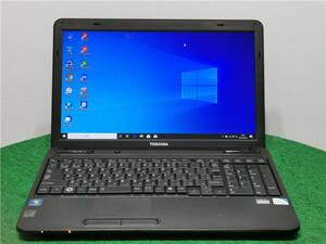 中古/15型/ノートPC/Windows10/SSD128GB/4GB/Pentium P6100/TOSHIBA B350/22A office搭載 リカバリー領域 動作良品 新品無線マウス