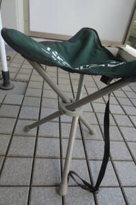 ★ 折り畳み椅子 スツールタイプ キャンプ ★ 中古