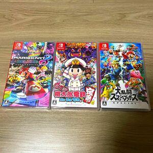Nintendo Switch ソフト3本 新品未開封