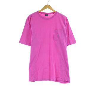 90年代 ラルフローレン POLO by Ralph Lauren 半袖 ワンポイントロゴポケットTシャツ USA製 メンズXL ヴィンテージ /eaa165386