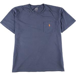 ラルフローレン Ralph Lauren POLO by Ralph Lauren 半袖 ワンポイントロゴポケットTシャツ メンズL /eaa168349
