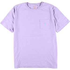 ラルフローレン Ralph Lauren POLO RALPH LAUREN 半袖 ワンポイントロゴポケットTシャツ メンズM /eaa168459