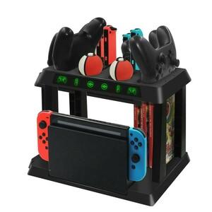 Switch充電スタンド&収納ホルダー Joy-Con プロコン 6台同時