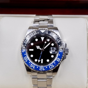 【国内即日発送】高品質ムーブメント・メンズ自動巻き腕時計 40mm GMT PARNIS パーニス R31