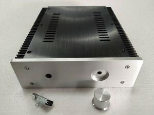 (人気商品) アンプ シャーシ アルミ 212mm×257mm×70mm 真空管 パワーアンプ デジタルアンプ ケース 自作