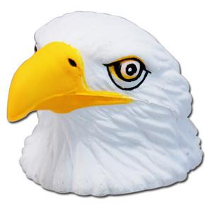 イーグル USA ロゴ レッド アンテナボール アンテナトッパー 車 目印 カスタム 猛禽類 鷲 鷹 赤 アメ雑 定形外