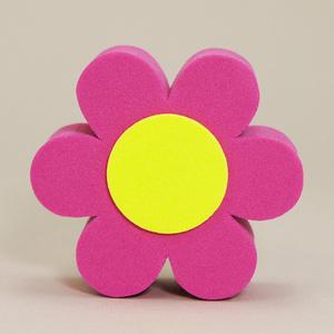 パープル デイジー アンテナボール アンテナトッパー 車 目印 飾り カスタム USA 紫 花 フラワー かわいい アメ車 グッズ 定形外