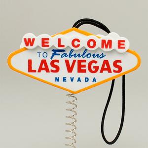 ラスベガス サイン アンテナボール アンテナトッパー 車 目印 飾り カスタム USA カジノ アメ車 グッズ 定形外