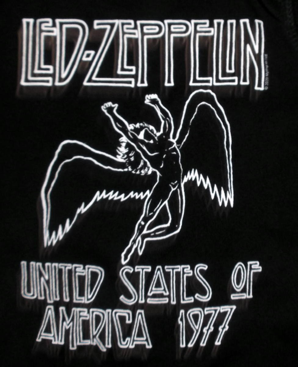 ★レッド ツェッペリン ロンパース Led Zeppelin USA 1977 - 18ヶ月 正規品 ベビー服 子供服 ロックTシャツ 関連