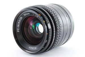 ★極美品★ニコン NIKON PC-NIKKOR 35mm f2.8 ★動作OK★#10415