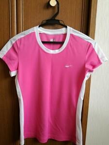 ナイキ Nike Tシャツ トレーニングウエア ランニング テニス ヨガ ウォーキング スポーツ 運動 トップス ピンク