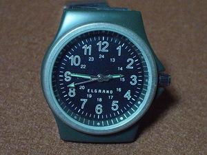 ELGRANDの腕時計 ブラック